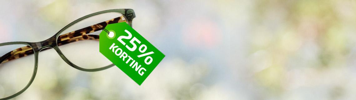 25% korting voor 60-plussers