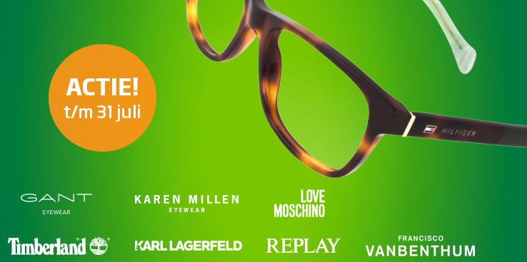 €50,- korting op alle merkbrillen v.a. €139,-