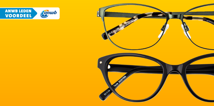 25% korting voor anwb-leden op een complete bril